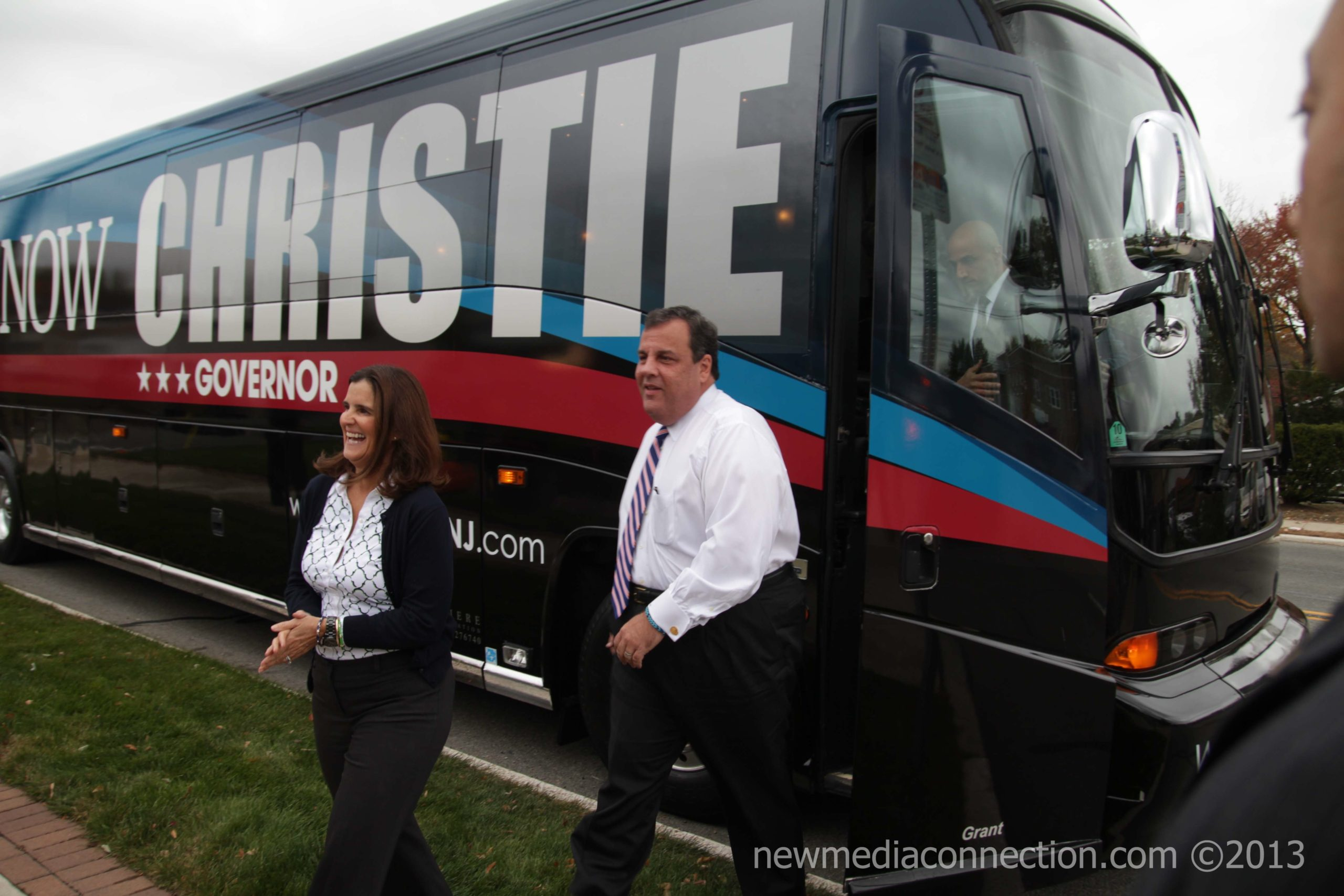 Governor Chris Christie Bus Tour Kickoff Event