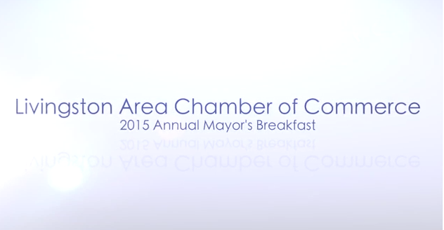 Video From the Livingston Area Chamber of Commerce Annual Mayor's Breakfast